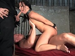 Julie Night trained to service hard cock