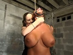 Ava Devine loves it all, bondage, anal, orgasms & fishnet lace