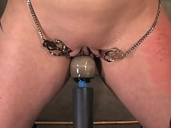 Gorgeous Slave girl Trained in Pain and Sex