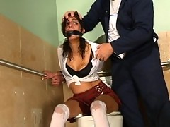Talia Monet, famous bondage model with her own fantasies.
